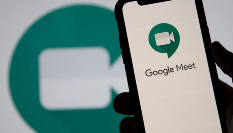 Google Meet arranging noise cancellation feature on Android, iOS