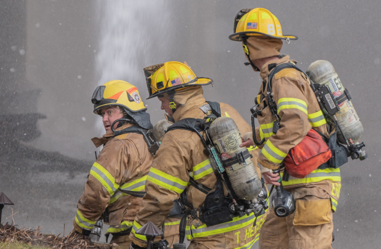 Firefighters maintain themselves fit for rescue missions