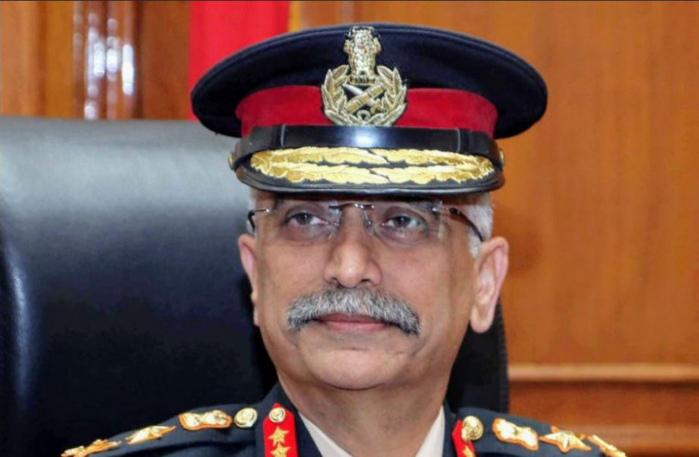 India resembles the army chief's visit to Nepal to bring ties back on an even keel
